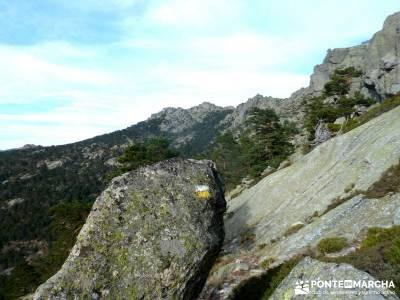 Siete Picos:Senda Herreros,Camino Schmid(Schmidt); excursiones sierra madrid; rutas por madrid;ruta